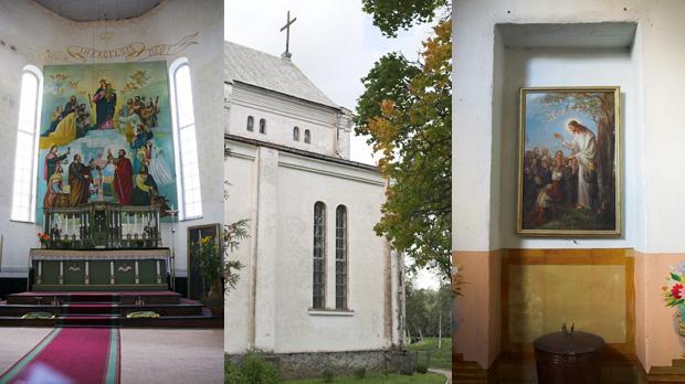 Gudenieku baznīcas iekšskati