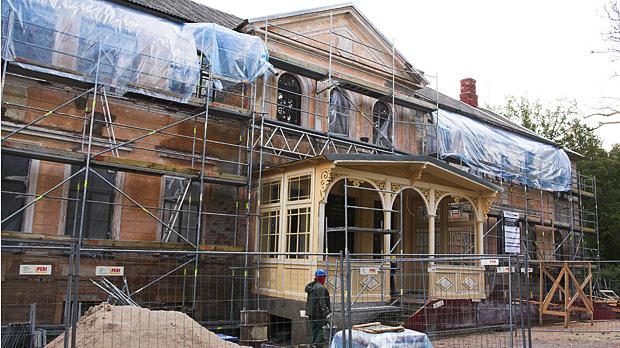 Aizputes Padures pils rekonstrukcija