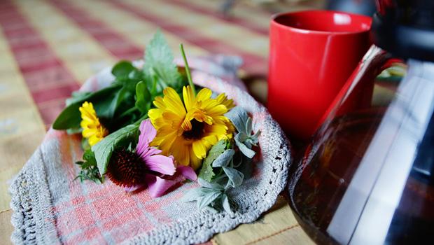 Tējas Pirts rituālā