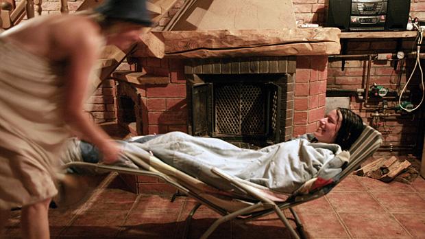 Relaksācija pēc pirts rituāla