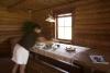 Jaunais viesu nams Ezermaļi, Kurzemē. Brokastu galds