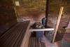 Atpūtas vieta Ezermaļi Kurzemē. Pirts telpa jaunajā viesu namā