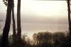 Rīta migla pār Zvirgzdu ezeru, 20.gs. beigas