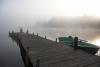 Zvirgzdu ezers. 2009. gada 4. jūlija rīts Ezermaļos