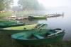 Zvirgzdu ezers Kurzemē. Laivu noma