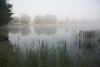 Zvirgzdu ezers Kurzemē. 2009. gada 4. jūlija rīts