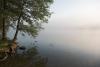 Zvirgzdu ezers, Kurzemē. 2009. gada 4. jūlija rīts