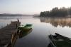 Rīts pie Zvirgzdu ezera
