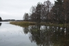 Zvirgzdu ezers rudenī