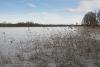 Ezermaļi. Zvirgzdu ezers ziemā