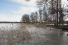 Zvirgzdu ezers ziemā. Kurzeme