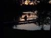 Zvirgzdu ezers Kurzemē. Saulriets